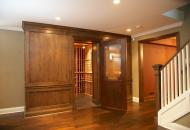 Spectacular basement wine cellar by Anden
