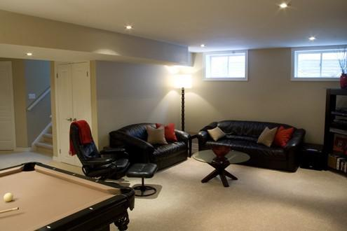 Basement Renovations By Anden Construction